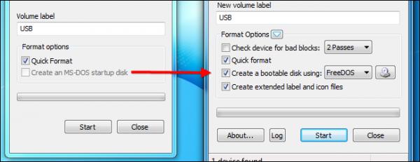 راهنمای Bootable کردن USB برای راه اندازی اتوماتیک DOS
