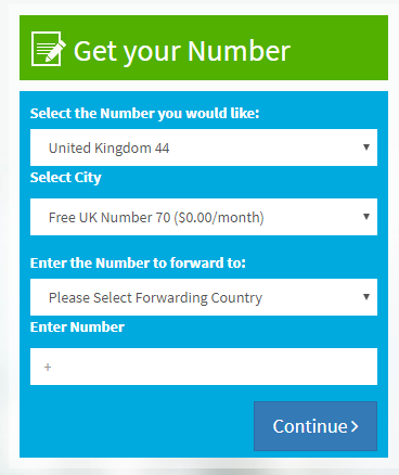 ساختن شماره مجازی انگلستان