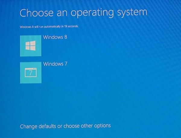 آموزش نصب همزمان نسخه ویندوز ۷ و ۸ در یک سیستم