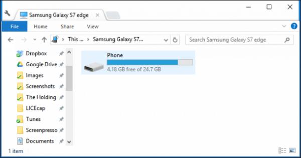 مدیریت فایل در اندروید