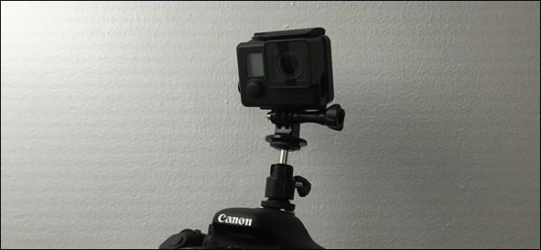چگونه یک GoPro بر روی دوربین DSLR سوار کنیم؟