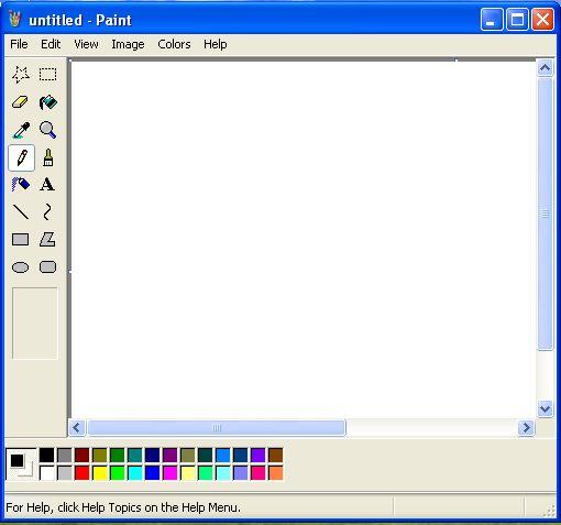 برای چسباندن تصویر و اسکرین شات گرفته شده در نرم افزار ویرایشی نقاشی، در صفحه سفید ctrl و v را با هم بگیرید