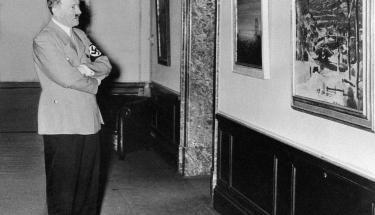 علاقه هیتلر به هنر