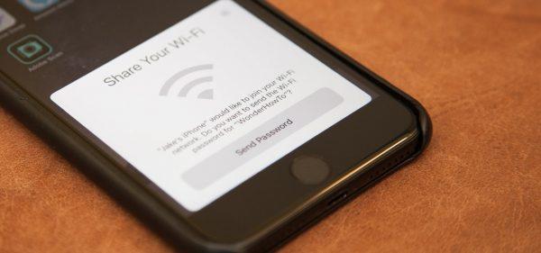 آموزش اشتراک گذاری سریع پسورد wi-fi از آیفون به دیوایس های iOS 11