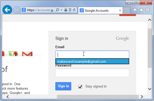 how to see saved password in internet explorer