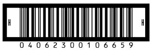 نمونهای از کدهای میلهای ITF-14