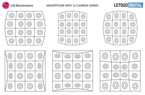 منتظر گوشی ۱۶ دوربینه جدید ال جی باشید