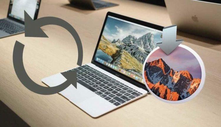 حل مشکل فریز شدن مک هنگام بروز رسانی سیستم عامل