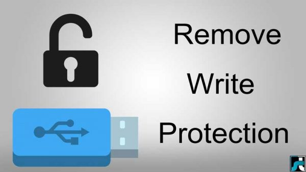 آموزش تصویری حل مشکل Write Protection و عدم فرمت فلش USB