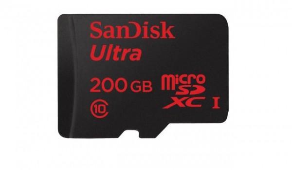 کارت حافظه ۲۰۰ گیگابایتی میکرو اس دی برای خرید در دسترس قرار گرفت