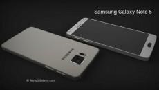 صفحه نمایش ۴K،بدنۀ فلزی و شیشه ای در Samsung Galaxy Note 5
