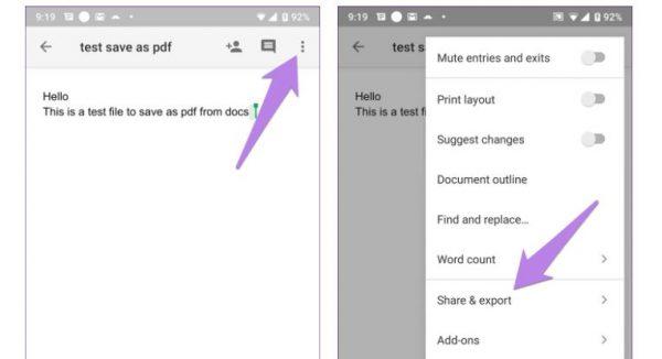 ایجاد پی دی اف در اندروید با کمک گوگل درایو
