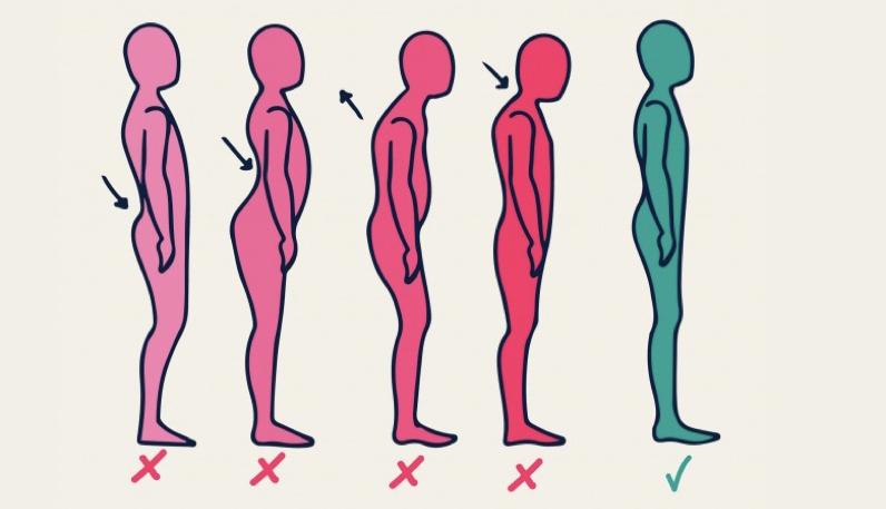 نحوه ایستادن در زبان بدن
