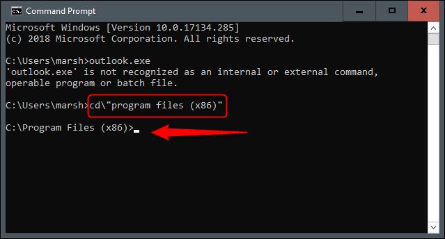 چرا و چطور ورد را از طریق کامند پرامپت اجرا کنیم؟