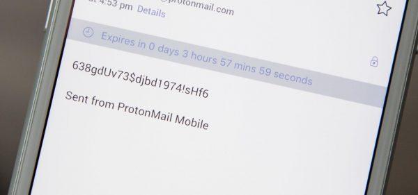 چگونه یک ایمیل خود تخریب و امن ارسال کنیم؟