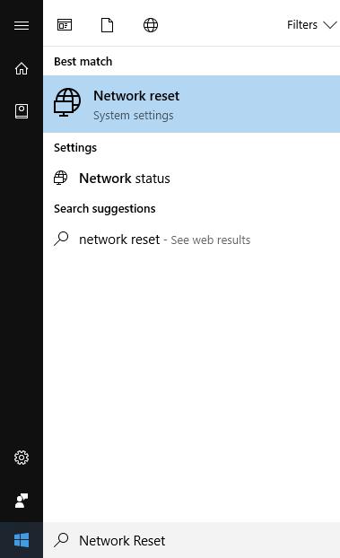برای حل مشکل وصل شدن به اینترنت در ویندوز، می توانید، به کمک امکان ریست شبکه، وضعیت را رفرش کنید و این هدف خود را دوباره تست کنید