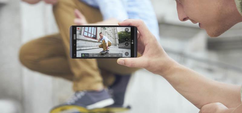 LG V30 مخصوص عکاسی در محیط های کم نور