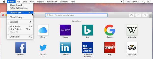 چگونه مانع Unzipping شدن فایل در مرورگر Safari در macOS شویم؟