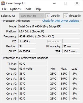 کنترل گرمای پردازنده سیستم