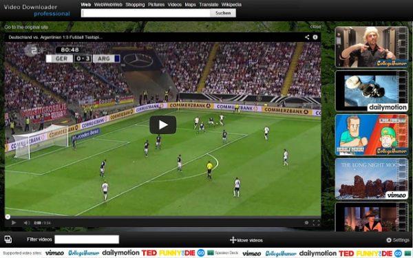 افزونه دانلود از یوتیوب در کروم Video Downloader professional