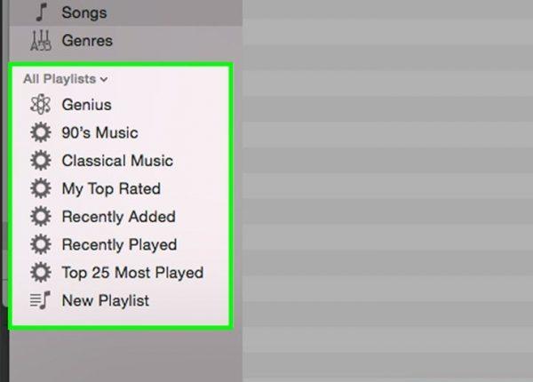 لیست های پخش بخش مهمی از آیتونز است که می توانید به خوبی آن را به دلخواه مدیریت کنید