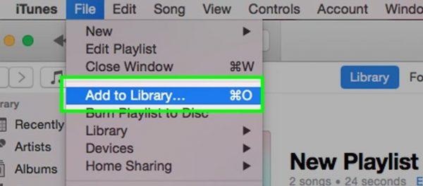 هنگام کار کردن با آیتونز می توانید برای انتقال موسیقی ها و فیلم ها، به صورت پوشه و فایل نیز این کار را یک جا انجام دهید و در زمان خود صرفه جویی کنید