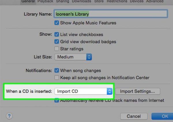 هنگام استفاده از آیتونز می توانید در یک گام، یک سی دی پر از آهنگ را، به صورت یک جا روی سیستم و بعد روی گوشی همگام سازی کنید