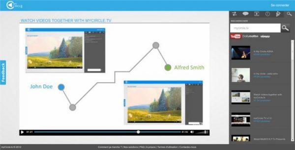 MyCircleTV ابزار نمایش فیلم با دوستان و چت صوتی
