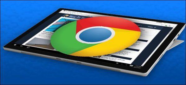 آموزش  Touch-Friendly تر کردن مرورگر  Chrome برای Microsoft Surface