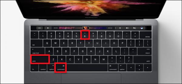 آموزش ایجاد اسکرین شات از Touch Bar در مک بوک پرو اپل
