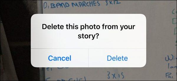 آموزش حذف تصاویر از استوری اینستاگرام
